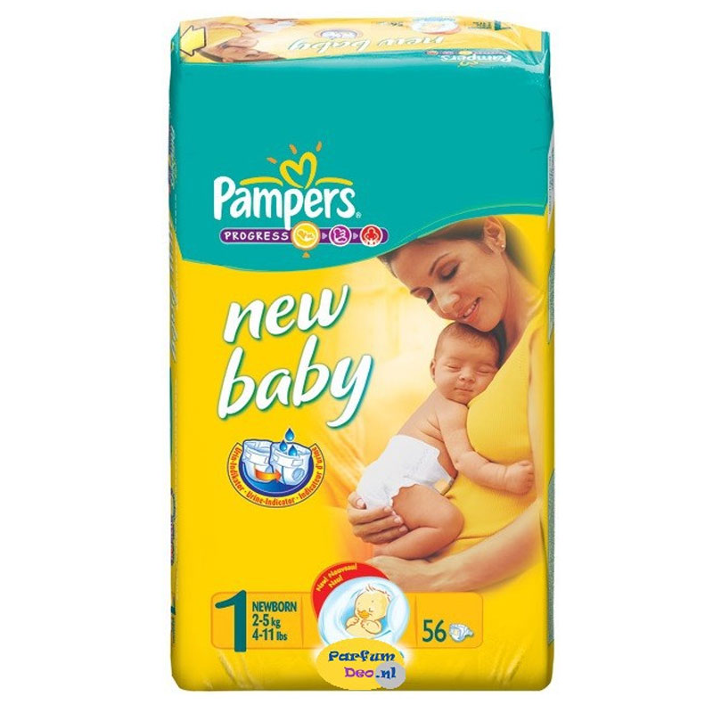 Pampers New Baby Newborn 3X56 Overhealth Overespa