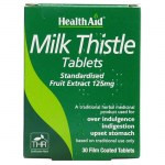 Health aid Milk Thistle Seed Extract 30 tablets Φυτοθεραπεία με ταμπλέτες που προστατεύουν το ήπαρ Farmakeioeshop Overespa