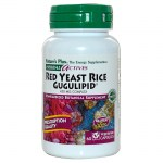 Nature`s plus red yeast rice gugulipid vcaps 60 -farmakeioeshop overespa