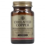 Solgar chelated copper 2,5mg tabs 100s -farmakeioeshop overespa