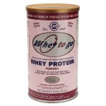 Solgar whey to go protein strawberry powder 454gr -farmakeioeshop overespa