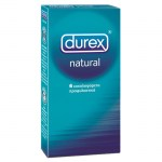 Durex Natural Προφυλακτικά, 6τμχ. Farmakeioeshop - Overespa