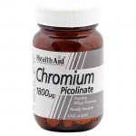 Health aid Chromium Picolinate Ειδικά συμπληρώματα, 1800mg 60tbs Farmakeioeshop Overespa