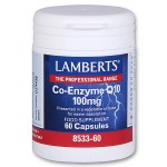 Lamberts Co-enzyme Q10 Συμπληρώματα, 100mg 60caps Farmakeioeshop - Overespa