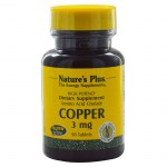 Nature`s plus copper 3 mg tablets 90 -farmakeioeshop overespa