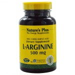 Nature`s plus l-arginine 500 mg vcaps 90 -farmakeioeshop overespa