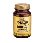 Solgar Folic Acid 800mg Tabs 100s Για την αναιμία Farmakeioeshop Overespa