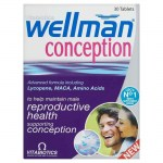Vitabiotics wellman conception 30tabs -farmakeioeshop overespa