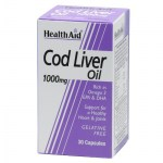 health aid cod liver oil 1000mg 30caps Συμπληρώματα διατροφής κατά της αρθρίτιδας - farmakeioeshop overespa