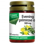 power health Evening Primrose Oil Φυσική πηγή λιπαρών οξέων Ω3, 500mg 30 S -farmakeioeshop overespa